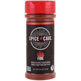 Spice Cave, Fire, Sweet & Spicy Seasoning, 3.8 oz (107 g)