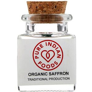 Пуре Индиан Фудс, Organic Saffron, 1 g отзывы покупателей