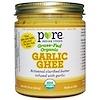 Pure Indian Foods, グラスフェッド オーガニックガーリック ギー、 7.8 oz (220 g)