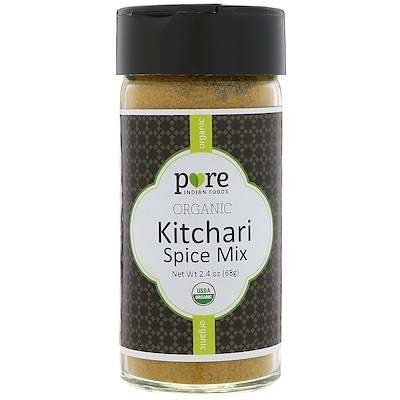 Pure Indian Foods 有機Kitchari混合調味料,2.4 oz (68 g)