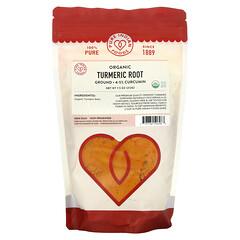 Pure Indian Foods, 有機薑黃根,研磨,7.5 盎司(212 克)