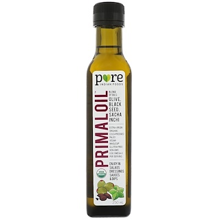 Pure Indian Foods, Organic Primal Oil, Cold Pressed, Extra-Virgin, 250 ml