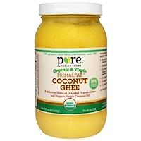 Органическое кокосовое масло гхи PrimalFat, 425 г (15 унций) - фото