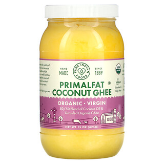 Pure Indian Foods, Organic & Virgin PrimalFat Coconut Ghee, 15 oz (425 g)
