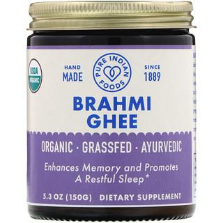 Pure Indian Foods, Organic Brahmi Ghee, 5.3 oz (150 g)