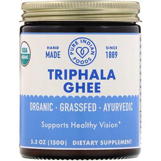 Pure Indian Foods, Organic Triphala Ghee, 5.3 oz (150 g)