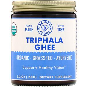 Пуре Индиан Фудс, Organic Triphala Ghee, 5.3 oz (150 g) отзывы