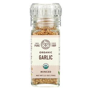 Pure Indian Foods, Organic Garlic, Minced, 2.5 oz (70 g)