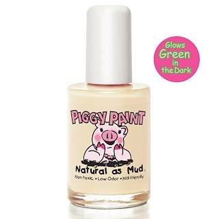 Piggy Paint, Nail Polish, Radioactive, Glows in the Dark!, 0.5 fl oz (15 ml)