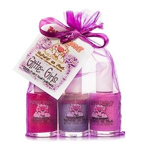 Пигги Пэйнт, Nail Polishes, Glitter Girls Gift Set, 3 Bottles, 0.5 fl oz (15 ml) Each отзывы
