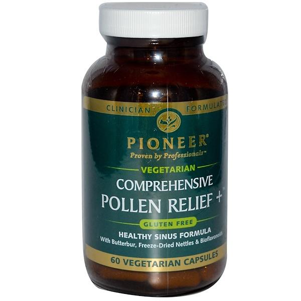 Pioneer Nutritional Formulas, Comprehensive Pollen Relief +, 60 Veggie Caps (Discontinued Item)