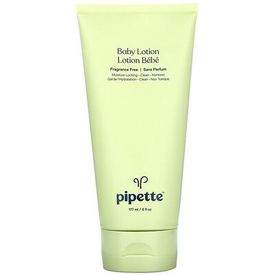 Купить Pipette Baby Lotion, Fragrance Free, 6 fl oz (177 ml)