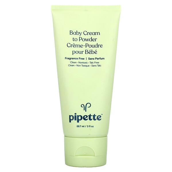 Baby Cream to Powder, 3 fl oz (88.7 ml)