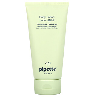 Pipette, Baby Lotion, Fragrance Free, 6 fl oz (177 ml)