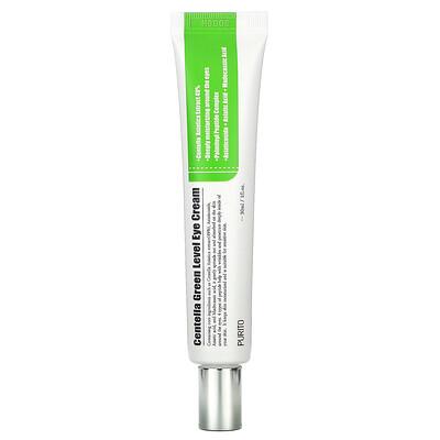 Купить Purito CentellaGreenLevel, крем для кожи вокруг глаз с готу колой, 30мл (1жидк. унция)