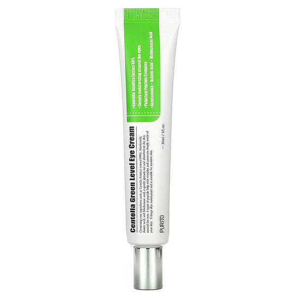Purito, Centella Green Level Eye Cream, 1 fl oz (30 ml)