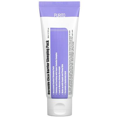 Купить Purito Dermide Cica Barrier Sleeping Pack, 2.70 fl oz (80 ml)
