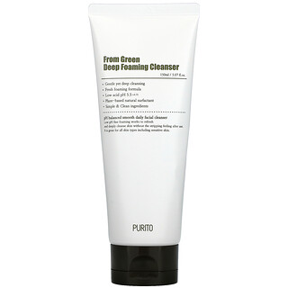 Purito, From Green Deep Foaming Cleanser, 5.07 fl oz (150 ml)