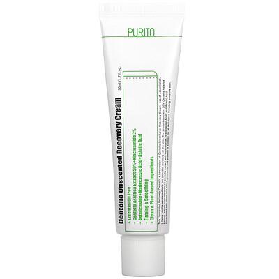 Purito Centella Unscented Recovery Cream, 1.7 fl oz (50 ml)