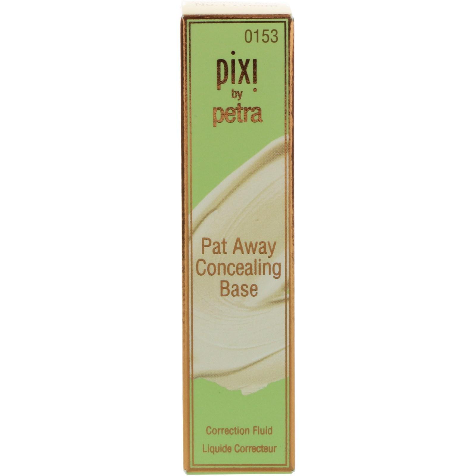 Pixi Beauty, Pat Away Concealing Base, No. 1 Cream, 0.13 oz(pack of 4) Anti-Aging Peeling Gel (4oz)