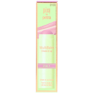 Pixi Beauty, MultiBalm, mejillas y labios, rosa salvaje, 0.23 oz (6.5 g)