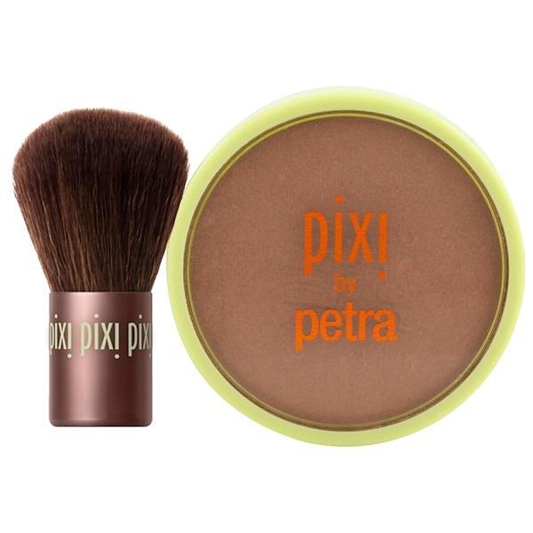 Pixi Beauty, Beauty Bronzer + Kabuki, Summertime, .36 oz (10.21 g) (Discontinued Item)