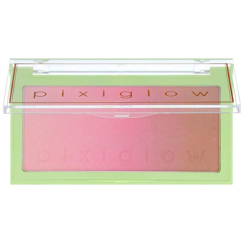 Pixiglow Cake, 3-in-1 Luminous Transition Powder, Pink Champagne Glow, 0.85 oz (24 g)