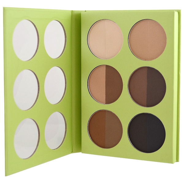 Pixi Beauty, Book of Beauty, Brow Know How, 6 x 0.09 oz (2.7 g) Each (Discontinued Item)