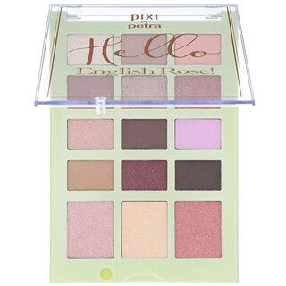 Pixi Beauty, Hello Beautiful!, English Rose, Face Palette, 0.56 oz (16.05 g)
