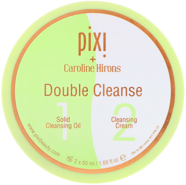 Pixi Beauty, Double Cleanse 2-in-1, 1.69 fl oz (50 ml) Each