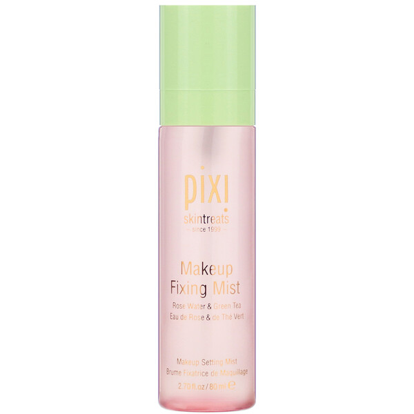 Pixi Beauty, Makeup Fixing Mist, with Rose Water and Green Tea, 2.7 fl oz (80 ml)