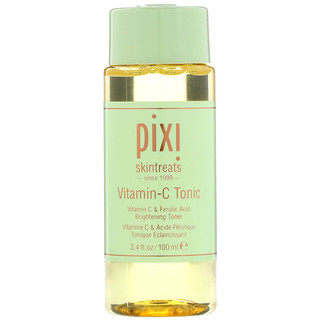Pixi Beauty, Skintreats, Vitamin-C Tonic, Brightening Toner, 3.4 fl oz (100 ml)
