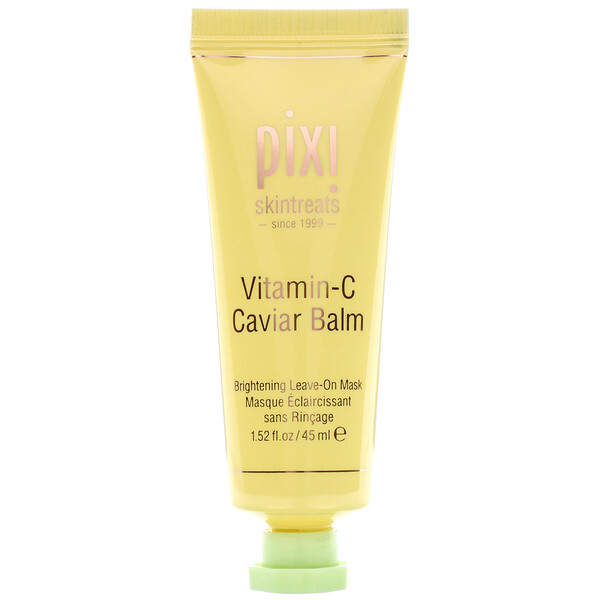 Pixi Beauty, Skintreats, Vitamin-C Caviar Balm, 1.52 fl oz (45 ml) (Discontinued Item)