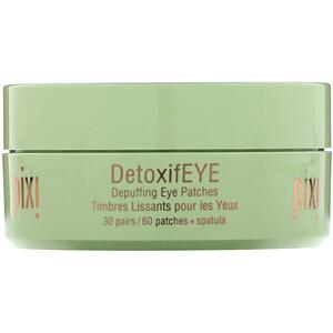 Пикси Бьюти, Skintreats, DetoxifEye, Depuffing Eye Patches, 30 Pairs + Spatula отзывы покупателей