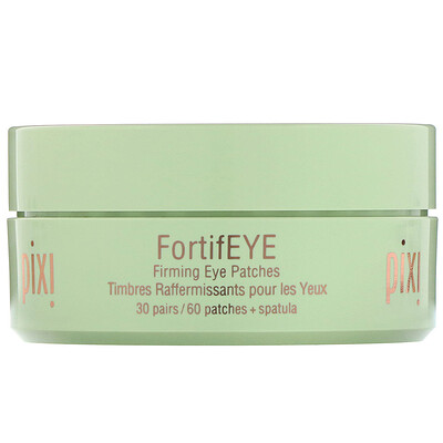 Купить Pixi Beauty Skintreats, FortifEye, патчи для области вокруг глаз, придающие упругости, 30пар