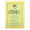 Pixi Beauty, Vitamin C, Energizing Infusion Sheet Mask, 3 Sheet Masks, 0.8 oz (23 g) Each