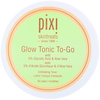 Pixi Beauty, GlowTonic To-Go, 60 toallitas