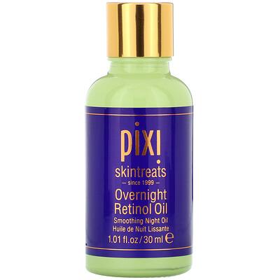 Купить Pixi Beauty Overnight Retinol Oil, разглаживающее ночное масло с ретинолом, 30мл (1жидк. унция)