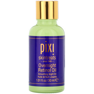 Pixi Beauty, Overnight Retinol Oil, Smoothing Night Oil, 1 fl oz (30 ml)