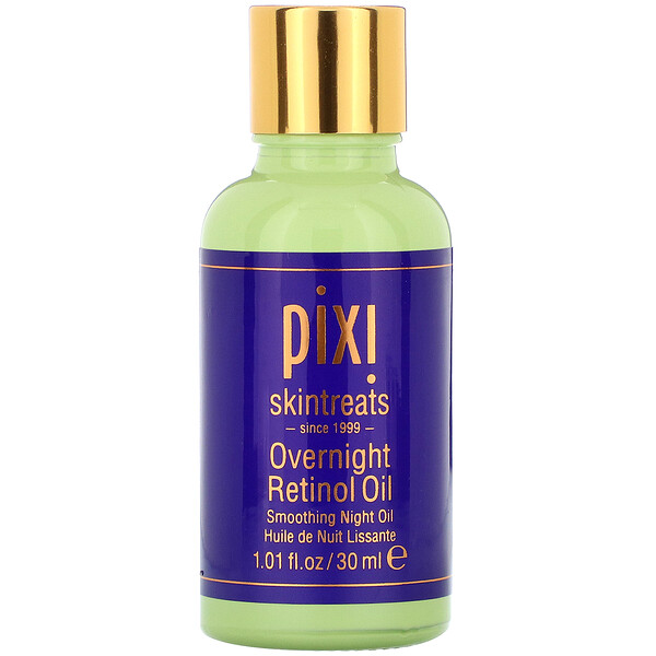 Overnight Retinol Oil, Smoothing Night Oil, 1 fl oz (30 ml)