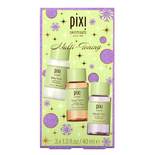 Pixi Beauty, Multi-Toning Set, 3 Piece, 1.3 fl oz (40 ml) Each