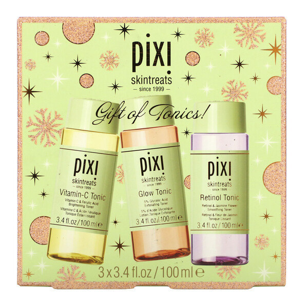 Pixi Beauty, Gift of Tonics Set , 3 Piece, 3.4 fl oz (100 ml) Each