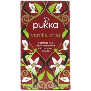Pukka Herbs, 印度香草茶,不含咖啡因,20茶包,1。41盎司(40克)