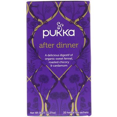 Купить Pukka Herbs После ужина, травяной чай, 20 пакетиков, 1.27 унций (36 г)