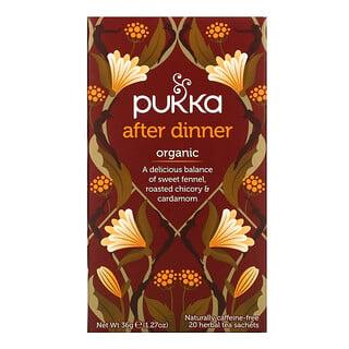 Pukka Herbs, Después de cenar, 20 bolsas de té de hierbas, 1.27 oz (36 g)