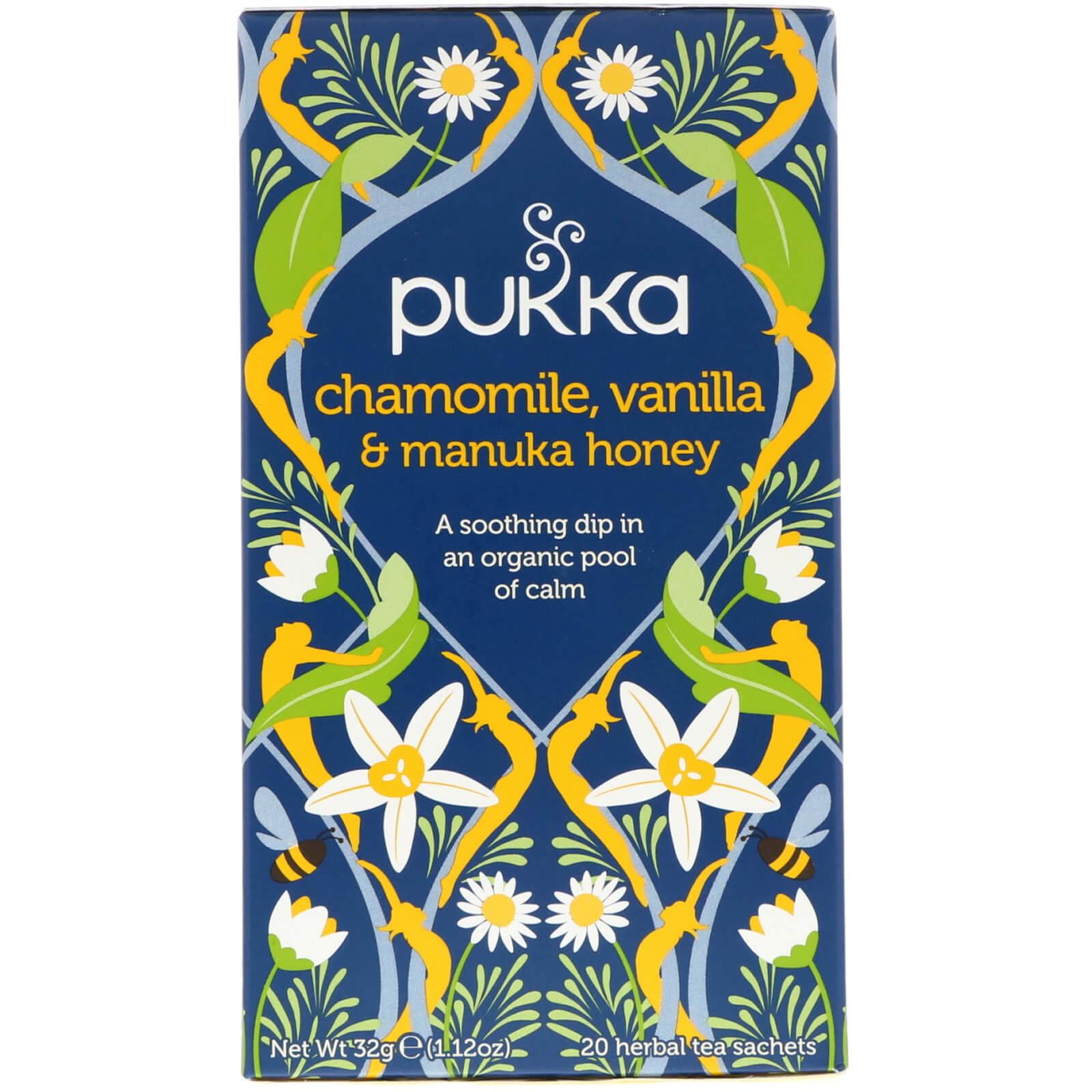 Pukka Herbs, Chamomile, Vanilla