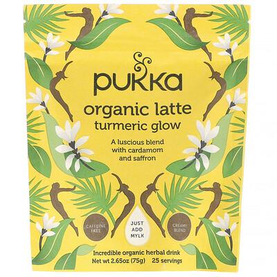 Купить Pukka Herbs Органическое латте с куркумой, без кофеина, 75г (2, 65унции)