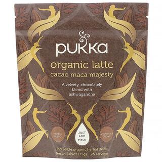 Pukka Herbs, Latte orgánico majestuoso de maca y cacao, 75g (2,65oz)