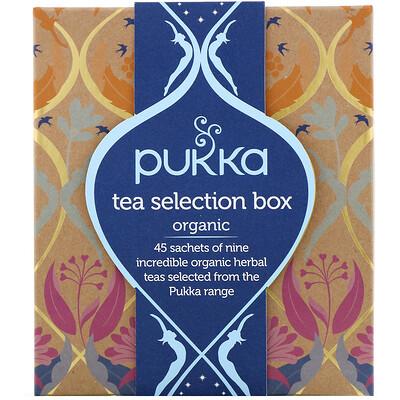 Купить Pukka Herbs Набор органического чая, 9травяных чаев, 45чайных пакетиков