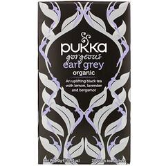 Pukka Herbs, 有機伯爵茶,20 袋紅茶,1.41 盎司(40 克)